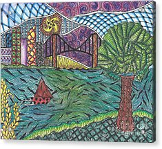 The Harbor Acrylic Print