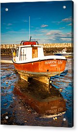 The Harbour Acrylic Print by Christine Smart