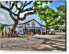 Acrylic Print featuring the digital art The Hardware Store by Michael Thomas
