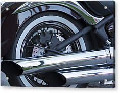 Acrylic Print featuring the photograph The Harley- Is There Really Anything Else by Renee Anderson