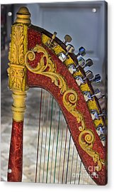 The Harp Acrylic Print by Al Bourassa