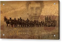 Acrylic Print featuring the photograph The Harvest by Ron Crabb