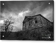The Haunted Acrylic Print by Michael Ver Sprill
