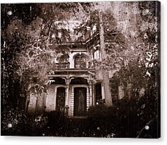 The Haunting Acrylic Print by David Dehner