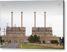 The Hazelwood Coal Fired Power Station Acrylic Print
