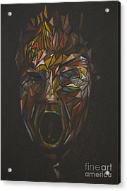 The Head Of Goliath - After Caravaggio Acrylic Print