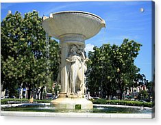 The Heart Of Dupont Circle Acrylic Print