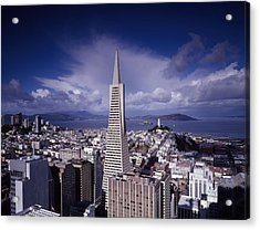 The Heart Of San Francisco Acrylic Print by Mountain Dreams