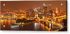 The Heart Of The Three Rivers Acrylic Print