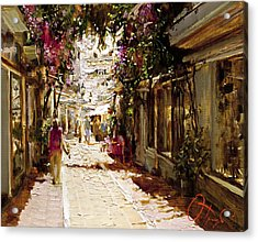 The Heat Of Andalusia Acrylic Print by Oleg Trofimoff