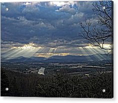 The Heavenly Valley Acrylic Print