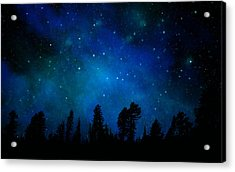 The Heavens Are Declaring Gods Glory Mural Acrylic Print by Frank Wilson