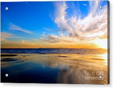The Heaven's Declare His Glory Acrylic Print by Margie Amberge