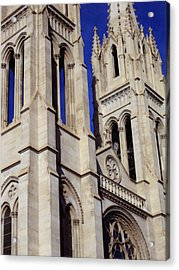 The Heights Of The Cathedral Basilica Of The Immaculate Conception Acrylic Print by Angelina Vick