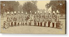 The Heralds And Trumpeters Acrylic Print by British Library