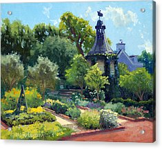 The Herb Garden Acrylic Print by Armand Cabrera