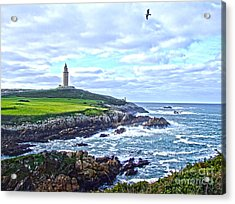 The Hercules Tower Acrylic Print