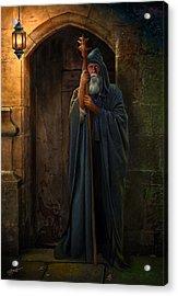 The Hermit Acrylic Print by Bob Nolin