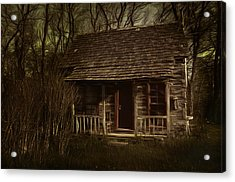 The Hermit's Cabin Acrylic Print by Julie Dant