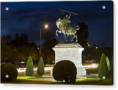 Acrylic Print featuring the photograph The Hero Of Spain by Nathan Rupert