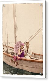 Acrylic Print featuring the photograph The Hertha by Ron Crabb