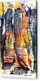 The Hidden Passage Acrylic Print by Buck Buchheister
