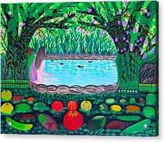 The Hidden Water Acrylic Print
