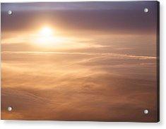 High Altitude Sunset  Acrylic Print