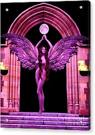 The High Priestess Acrylic Print by Steed Edwards