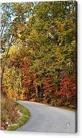 The High Road Acrylic Print