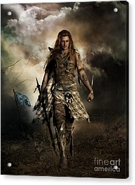 The Highlander Acrylic Print