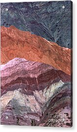 The Hill Of Seven Colors Argentina Acrylic Print