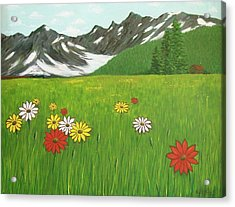 The Hills Are Alive With The Sound Of Music Acrylic Print