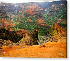 The Hills Have Eyes Acrylic Print by Larry Spring