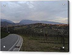The Hills Of The Wine Acrylic Print by Salvatore Gabrielli