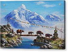 The Himalayan Journey  Acrylic Print
