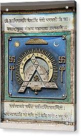 The Hindu Tantra Acrylic Print