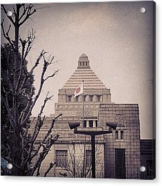 The #hinomaru ( #日の丸 ) At Acrylic Print
