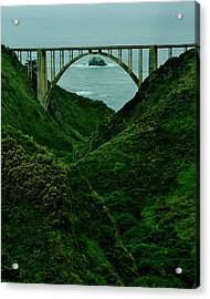 The Historic Pch Acrylic Print by Benjamin Yeager