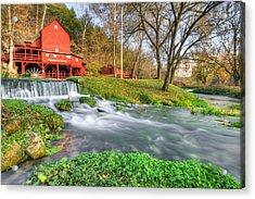 The Hodgson Water Mill - Missouri Acrylic Print