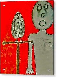 The Hollow Men 88 - Bird Acrylic Print