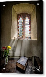 The Holy Bible Acrylic Print by Adrian Evans