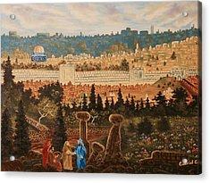 The Holy City Acrylic Print