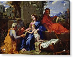 The Holy Family Acrylic Print