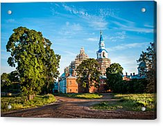 The Holy Place. Valaam. Northern Russia Acrylic Print by Jenny Rainbow