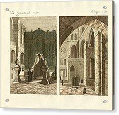 The Holy Sepulcher Of Jerusalem Acrylic Print by Splendid Art Prints