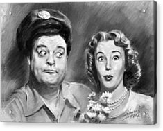 The Honeymooners Acrylic Print