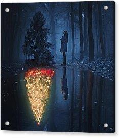 The Hope Of Christmas Acrylic Print