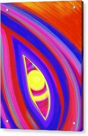 The Horizon Of Osirus Acrylic Print by Daina White