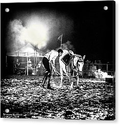 Acrylic Print featuring the photograph The Horse That Suffered  by Stwayne Keubrick
